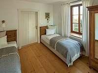 ložnice apartmán Kokořín - ubytování Korce