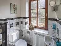 oddělená toaleta apartmán Korce -