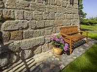 Vikendovka Korce zahrada -