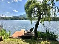 Milčanský rybník - chata ubytování Holany - Hostíkovice
