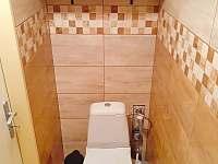 WC - chata k pronájmu Doksy - Staré Splavy