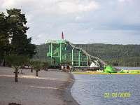hlavní pláž Staré Splavy  1700m