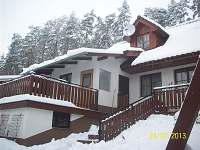 jižní strana chaty