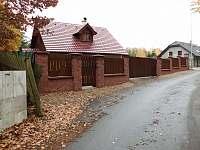 příjezdová cesta k chatě - k pronájmu Staré Splavy