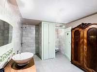 koupelna - pronájem chalupy Jestřebí - Újezd
