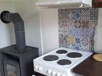 kuchyň Benonka - chata k pronajmutí Bezděz