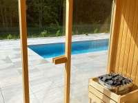 Sauna - chalupa ubytování Jestřebí - Újezd