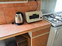 Kuchyňka - chata ubytování Bezděz