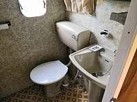WC - chata k pronajmutí Bezděz