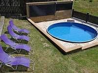 Venkovní solárně vyhřívaný zapuštěný bazén