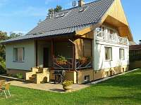 Rekreační dům na horách - Doksy Kokořínsko