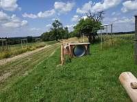 Dětské hřiště - pronájem chalupy Sitné