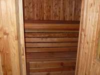 Sauna - chalupa k pronájmu Tachov u Doks