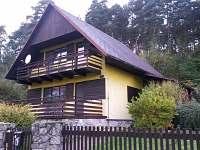 chata u lesa Jestřebí - k pronájmu