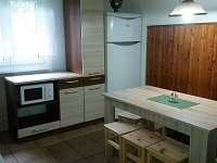 kuchyně - pronájem chaty Jestřebí