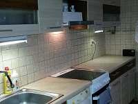 kuchyně - chata k pronajmutí Jestřebí