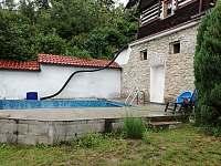 bazén - pronájem chalupy Velký Hubenov