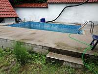 bazén - chalupa k pronajmutí Velký Hubenov