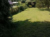 zahrada - chalupa k pronájmu Velký Hubenov
