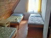 Ložnice 1 2.NP - chata ubytování Tachov u Doks