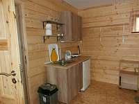 Kuchyňka v chatě