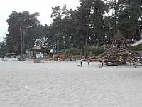 Pláž ve Starých Splavech