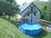 dětský bazén - ubytování Dubá-Bukovec