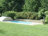 venkovní bazén - Dubá-Bukovec