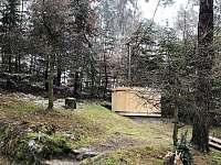 Finsky koupací sud - chata k pronajmutí Holany