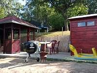 venkovní posezení - chata ubytování Staré Splavy
