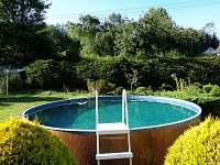 bazén - chalupa k pronájmu Heřmánky u Dubé