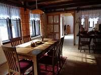 kuchyň - chalupa k pronájmu Heřmánky u Dubé