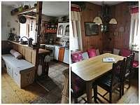 Kuchyně - pronájem chalupy Konrádov