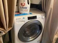 1. WC - pračka se sušičkou - chalupa k pronájmu Tupadly