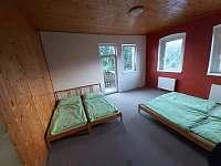4-lůžkový pokoj s balkónem - Levín - Horní Vysoké