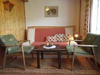 obývací pokoj,možnost přistýlky,rozkl.gauč - Velká Úpa