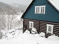 zimní výhled - chalupa ubytování Velká Úpa