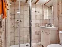 koupelna v rodinném apartmánu - chata k pronájmu Oblanov - Dolce