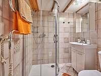 koupelna v rodinném apartmánu - chata ubytování Oblanov - Dolce