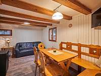 obývací pokoj - chata k pronajmutí Oblanov - Dolce
