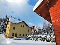 penzion v zimě - Žacléř - Prkenný Důl