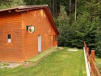 srub - vchod - chata k pronajmutí Žacléř - Prkenný Důl
