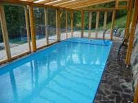 Bazén 8x3 m - chalupa k pronajmutí Benecko
