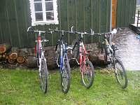 bike parking - chalupa k pronájmu Benecko