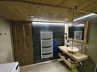 koupelna - chata k pronajmutí Příchovice 1189