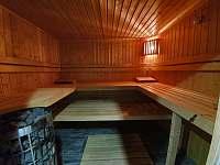 sauna - Příchovice 1189