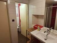 Chalupa Na hráni, koupelna 1 - pronájem Velká Úpa