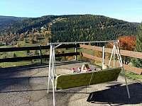 Chalupa Na hráni, na slunné terase se skvěle relaxuje - ubytování Velká Úpa