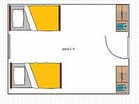 Pokoj č. 5 - Velká Úpa