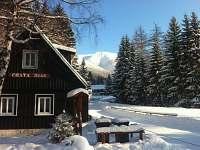 Chalupa v zimě - Špindlerův mlýn
